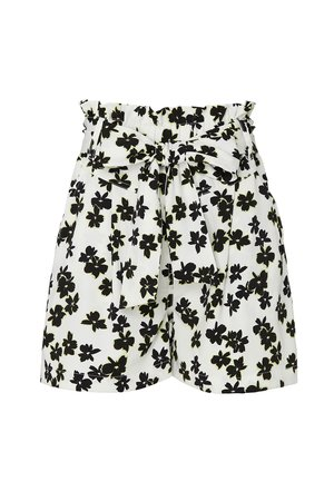 Floral Paper Bag Shorts by Love, Whit by Whitney Port
