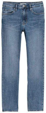 Ankle-length Slim-fit Pants - Blue