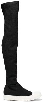 Stretch-knit Thigh Boots