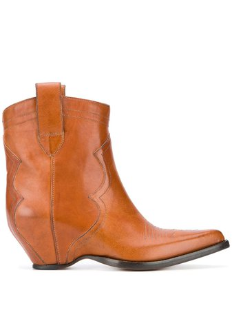 Maison Margiela Sendra 45 Ankle Boots - Farfetch