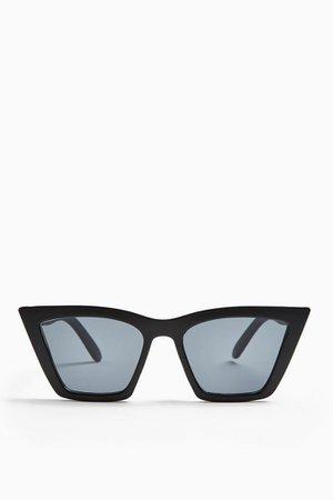 PANDORA Black Feline Sunglasses | Topshop