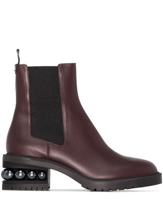 Shop Nicholas Kirkwood Casati chelsea 35mm boots with Express Delivery - FARFETCH