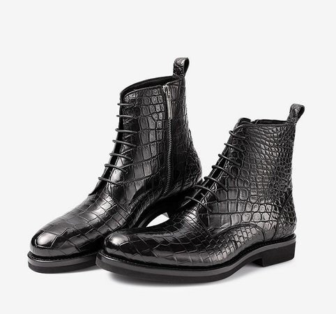 dragon boots black
