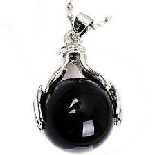 crystal ball pendent