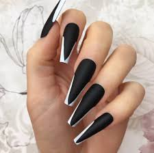 black and white nails - Google Search