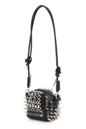*clipped by @luci-her* Givenchy Antigona Studded Mini Pouch Black Tote - Tradesy