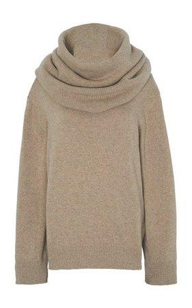 Oversized Cowl-Neck Wool-Blend Sweater By The Frankie Shop | Moda Operandi