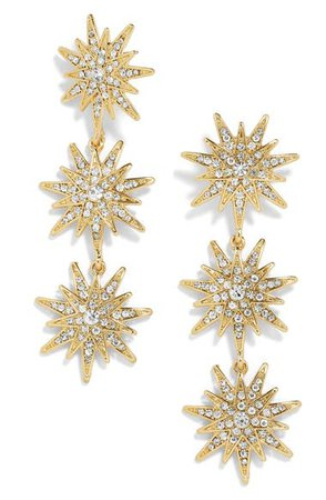 BaubleBar Star Drop Earrings | Nordstrom