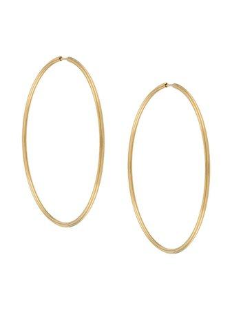 Maria Black Sunset Hoop Earrings 70 | Farfetch.com