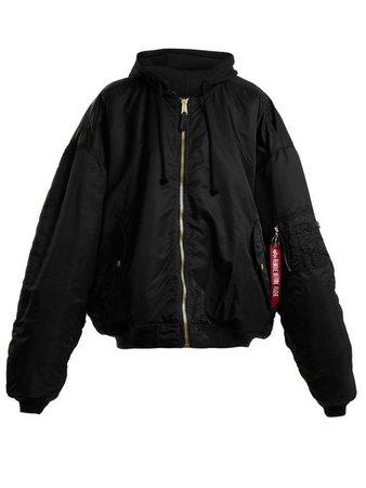 vetement bomber jacket