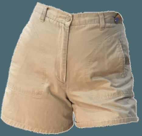high waisted khaki shorts 2