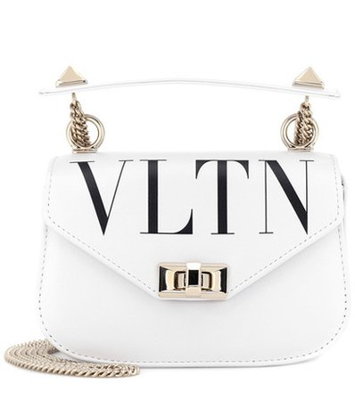 Valentino Garavani VLTN leather shoulder bag