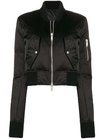 Unravel Project, Cropped Bomber Jacket