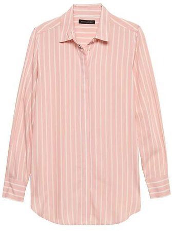 Parker Tunic-Fit Stripe Shirt