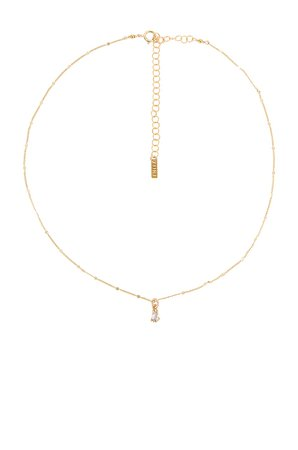 Natalie B Jewelry Elsa Necklace in Gold | REVOLVE