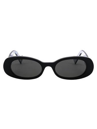 Gucci Gucci Sunglasses - Black Black Grey - 11163389 | italist