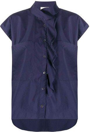Deconstructed Short-Sleeve Shirt