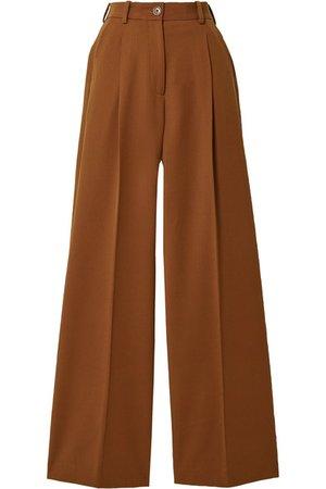 Racil | Twill wide-leg pants | NET-A-PORTER.COM