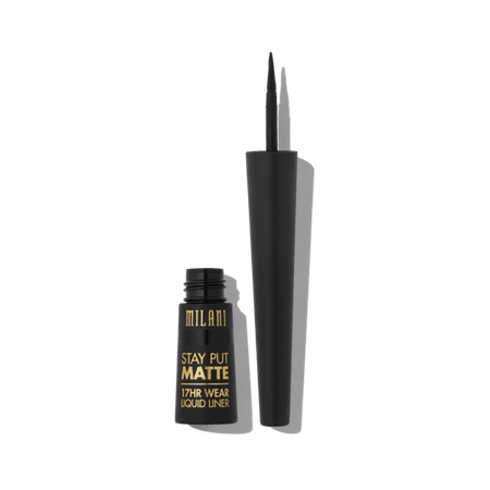 Stay Put® Matte Liquid Eyeliner – Milani Cosmetics