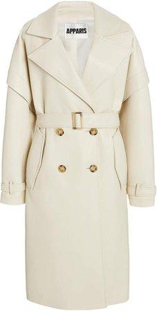 Apparis Kiera Vegan Leather Trench Coat