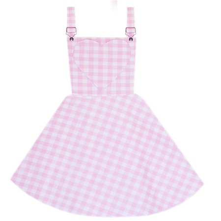 Blushing Beauty Overalls Dress – Bonne Chance Collections