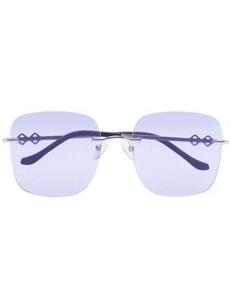 Karen Wazen Madison Sunglasses - Farfetch