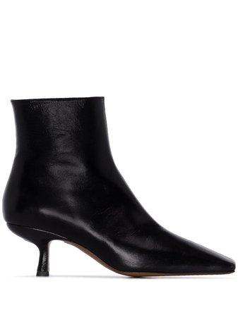 BY FAR kitten-heel boots - FARFETCH