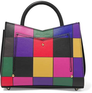 Toy Printed Leather Tote - Red