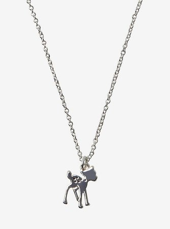 Disney Bambi Dainty Charm Necklace