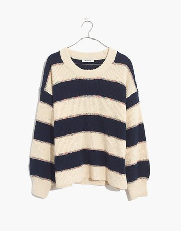 Striped Lakeville Pullover Sweater