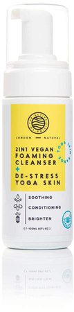 The Active Living Co 2 In 1 Vegan Foaming Cleanser & De Stress Yoga Skin