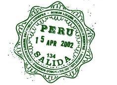 stamp peru