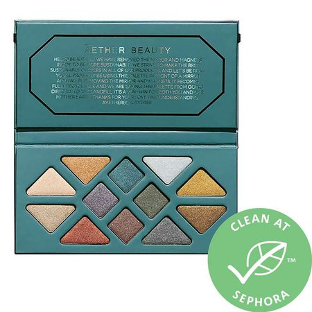Beauty - Crystal Grid Gemstone Eyeshadow Palette