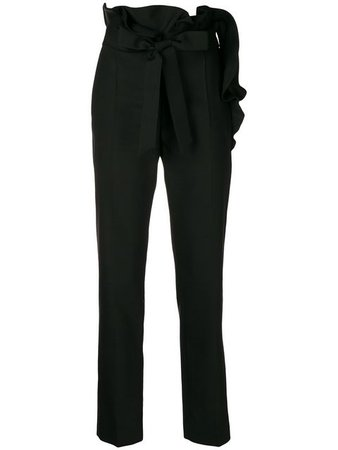 Valentino Frill Detail Trousers