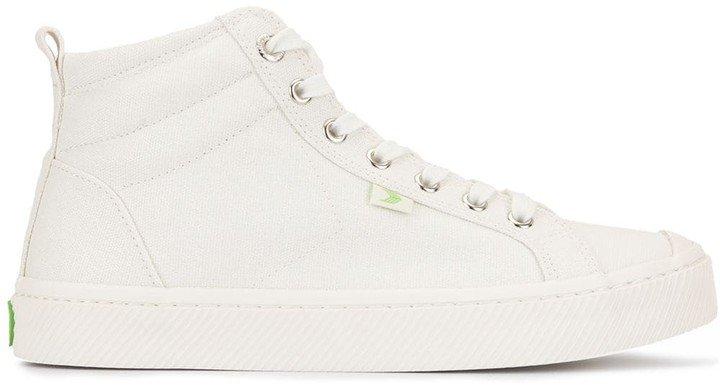 OCA High Off White Canvas Sneaker