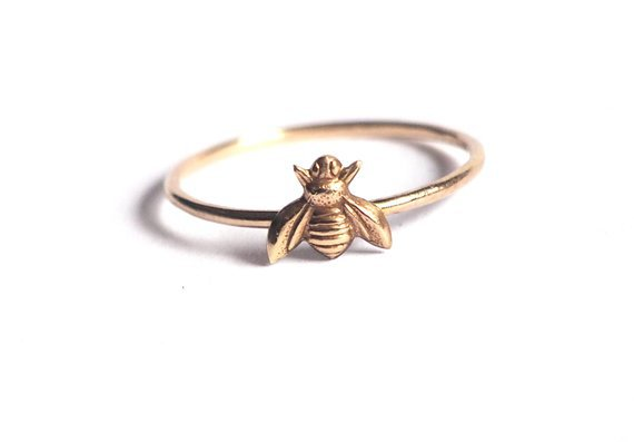 Little Bee Ring | Etsy