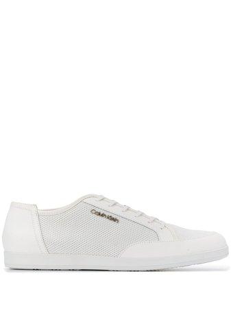 Calvin Klein Mesh Sneakers F1297WHT White | Farfetch