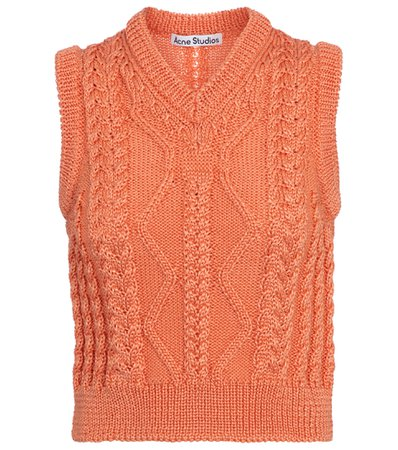 Acne Studios, Cable-knit sweater vest