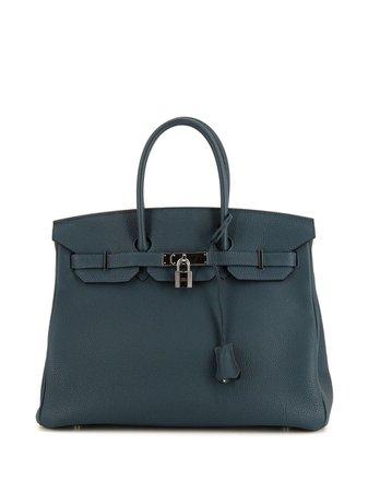 Hermès 2017 pre-owned Birkin 35 tote bag - FARFETCH