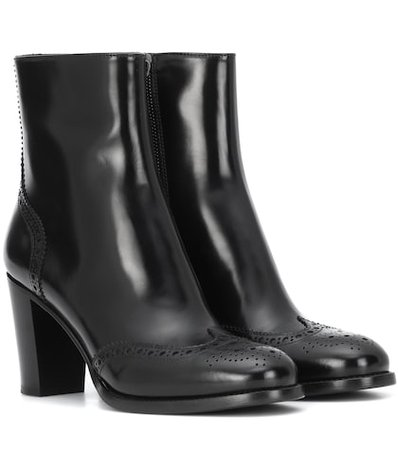 Aida leather ankle boots