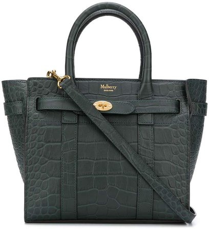 Bayswater embossed tote bag