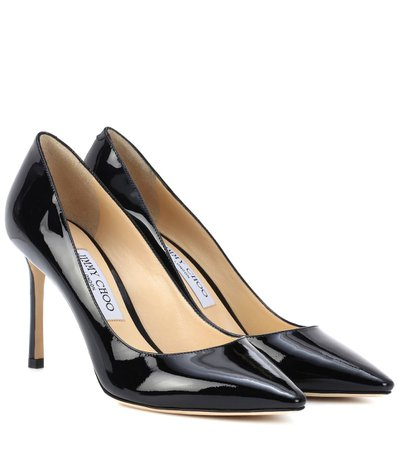 Romy 85 Patent Leather Pumps | Jimmy Choo - Mytheresa