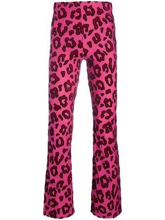 AMBUSH Leopard Print Bootcut Trousers - Farfetch