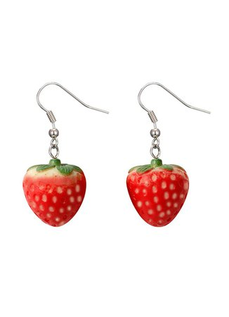 Strawberry Earrings – In Control Clothing