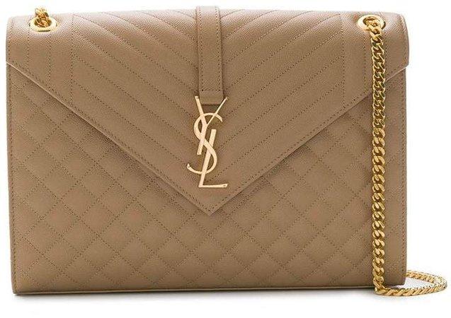 quilted Envelope shoulder bag