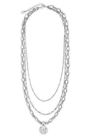 Sterling Forever Layered Necklace | Nordstrom