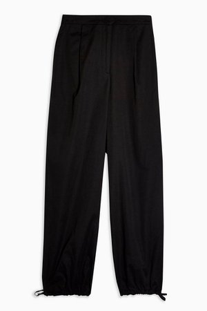 Black Tie Hem Joggers | Topshop