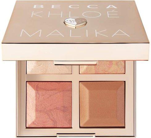 x Khloe Kardashian & Malika Haqq Bronze, Blush & Glow Palette