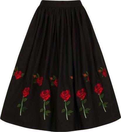Hell Bunny - Rosa Rossa Black Skirt - Buy Online Australia – Beserk