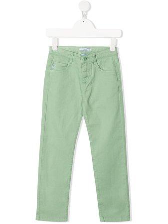 Knot Jake Cotton Twill Trousers - Farfetch
